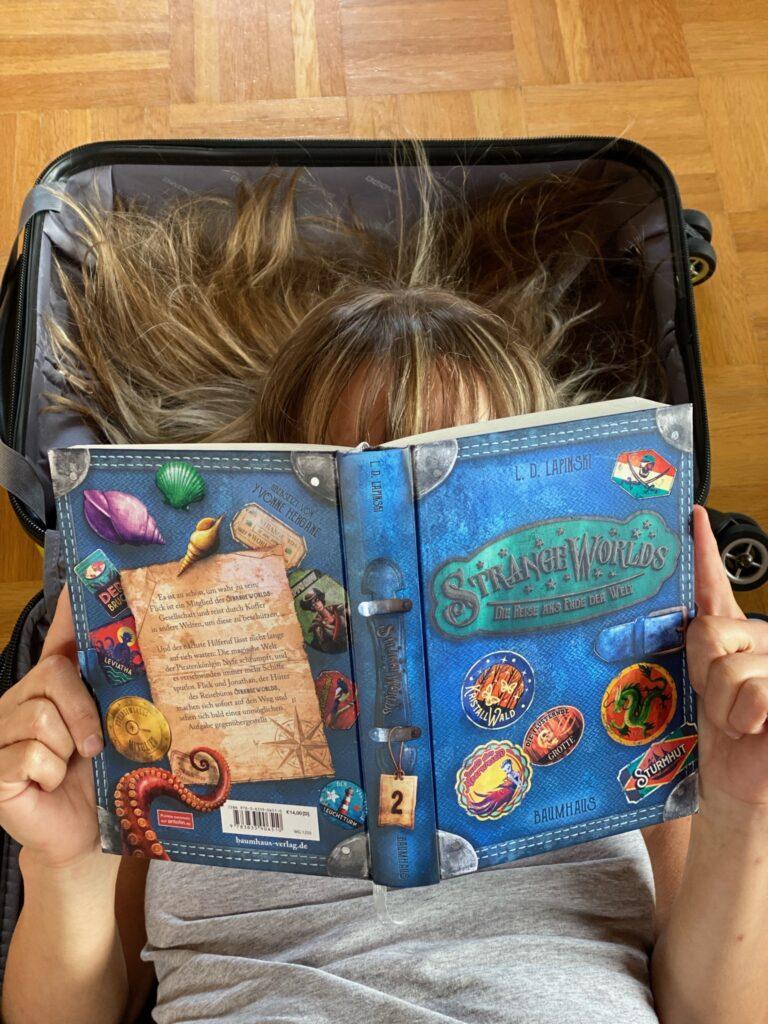 Kinderbuch Strange Worlds - Die Reise ans Ende der Welt