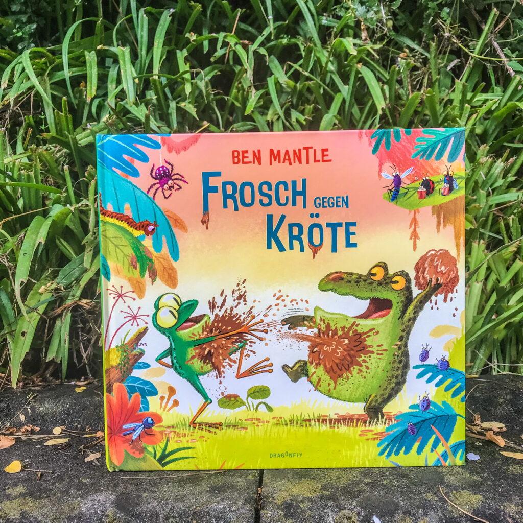 Kinderbuch Frosch gegen Kröte