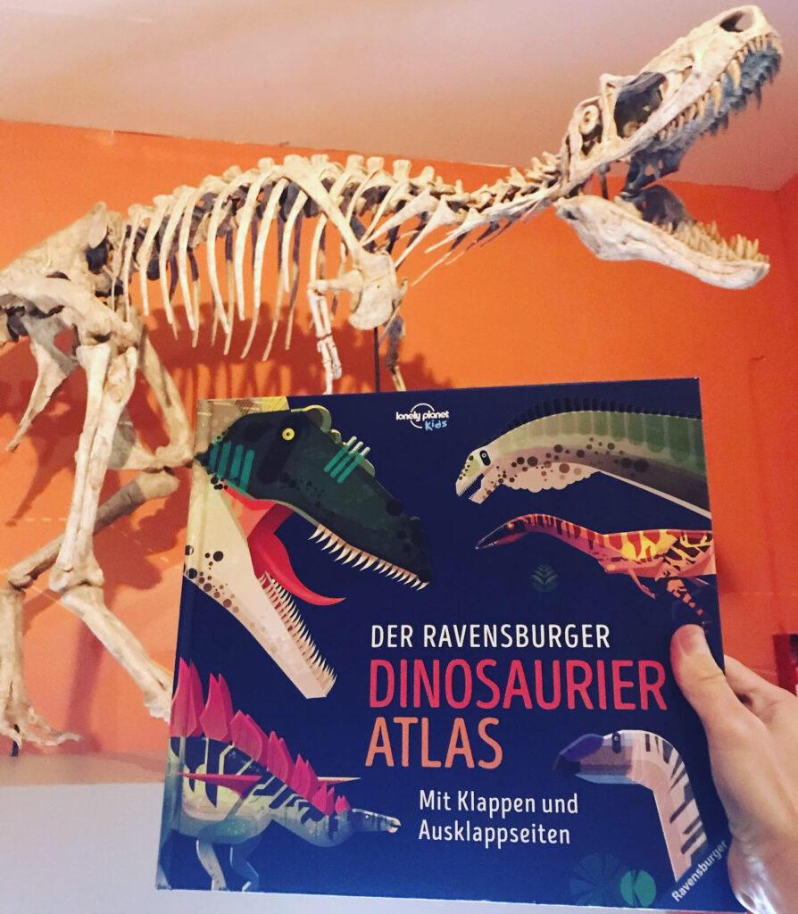 Kinderbuch Der Ravensburger Dinosaurier Atlas